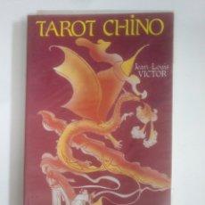 Libros de segunda mano: TAROT CHINO. JEAN LOUIS VICTOR. EDICIONES IRU. TDK388. Lote 170303428