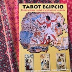 Libros de segunda mano: TAROT EGIPCIO. Lote 170369384