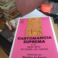 Libros de segunda mano: CARTOMANCIA SUPREMA O EL GRAN ARTE DE ECHAR LAS CARTAS -BENITA LA BRUJA - N 4 2. Lote 171295754
