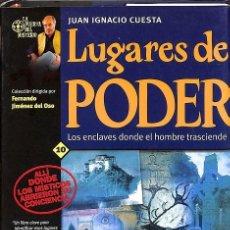 Libros de segunda mano: LUGARES DE PODER. Lote 171489587