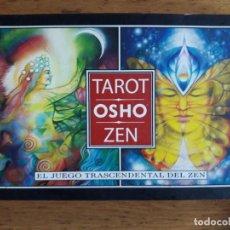 Libros de segunda mano: TAROT OSHO ZEN / EL JUEGO TRASCENDENTAL DEL ZEN / EDI. GAIA / EDICIÓN 2007. Lote 178871253