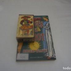 Libros de segunda mano: CLAVES DEL TAROT / EL TAROT RIDER - WAITE / EDICIONES OBELISCO / REGALO CARTAS TAROT FOURNIER. Lote 173051034