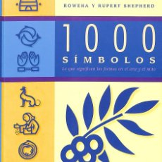 Libros de segunda mano: 1000 SÍMBOLOS. Lote 173184922