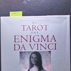 Libros de segunda mano: EL TAROT DEL ENIGMA DA VINCI. Lote 173323037
