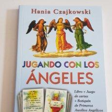 Libros de segunda mano: LIBRO JUGANDO CON LOS ANGELES - HANIA CZAJKOWSKI - TDK61. Lote 175853832