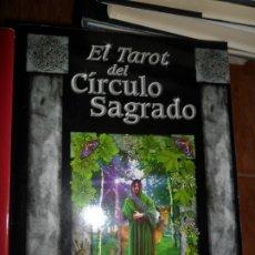 Libros de segunda mano: EL TAROT DEL CÍRCULO SAGRADO, UN VIAJE POR LA MAGIA SAGRADA CELTA, ANNA FRANKLIN, ILUSTRADO, EDAF. Lote 177565570
