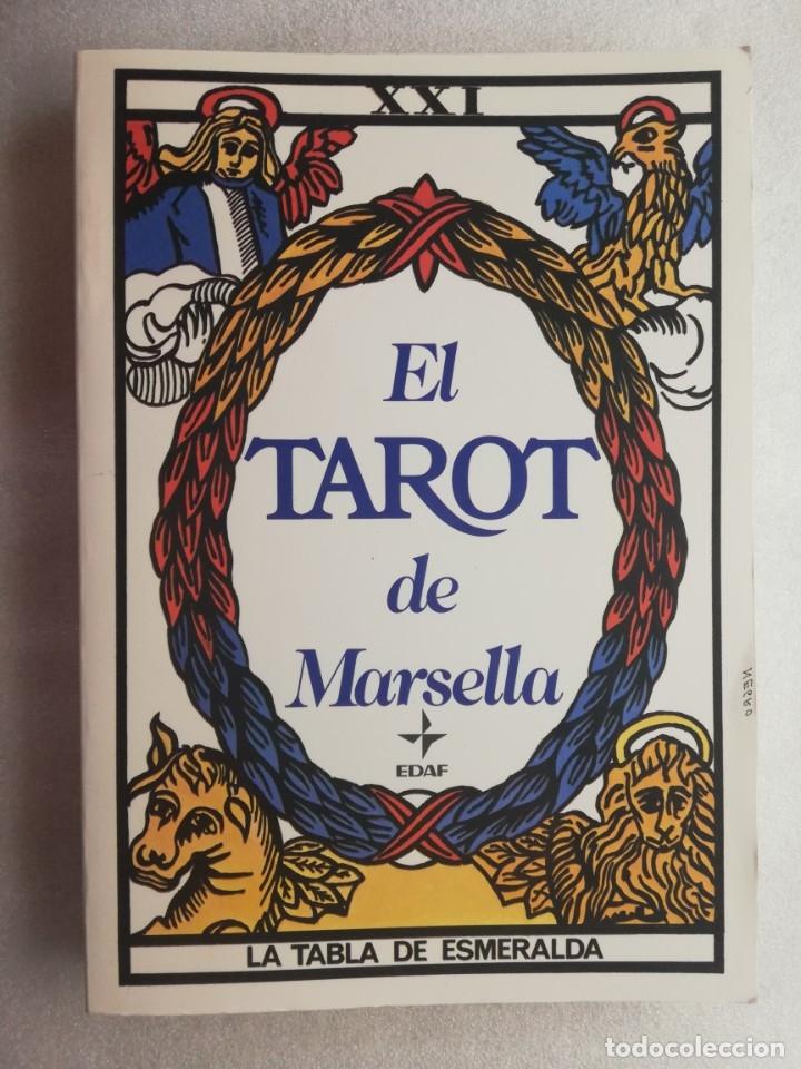 EL TAROT DE MARSELLA - LA TABLA DE ESMERALDA - EDAF (Libros de Segunda Mano - Parapsicología y Esoterismo - Tarot)