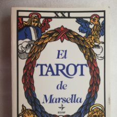 Libros de segunda mano: EL TAROT DE MARSELLA - LA TABLA DE ESMERALDA - EDAF . Lote 177962800