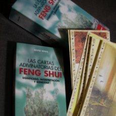 Libros de segunda mano: CARTAS ADIVINATORIAS DEL FENG SHUI. Lote 179111940