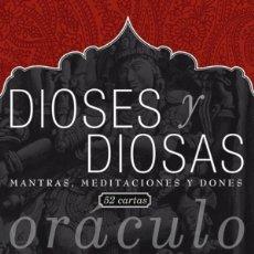 Libros de segunda mano: ORÁCULO DE LOS DIOSES Y DIOSAS. Lote 179331532