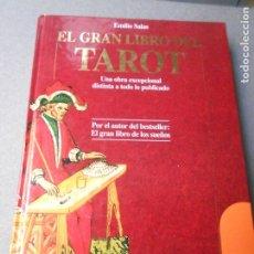 Libros de segunda mano: EL GRAN LIBRO DEL TAROT. Lote 180124005