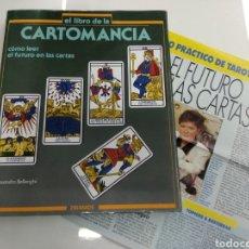 Libros de segunda mano: LIBRO CARTOMANCIA COMO LEER EL FUTURO EN LAS CARTAS A. BELLENGHI ED. PIRAMIDE INCLUYE CURSO PRÁCTICO. Lote 181414192
