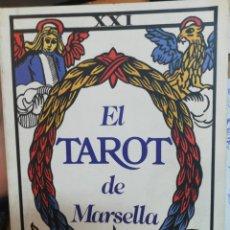 Libros de segunda mano: EL TAROT DE MARSELLA. Lote 182879113