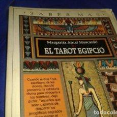 Libros de segunda mano: EL TAROT EGIPCIO. Lote 183737193