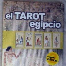 Libros de segunda mano: EL TAROT EGIPCIO - LOS LIBROS DE LA EGIPTOLOGÍA - EL ARCA DE PAPEL 2002 - VER INDICE. Lote 183898613