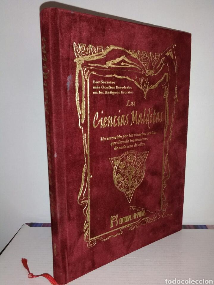 Libros de segunda mano: MUY DIFÍCIL DE ENCONTRAR!! LAS CIENCIAS MALDITAS. CIENCIAS OCULTAS. HUMANITAS - Foto 2 - 183903633