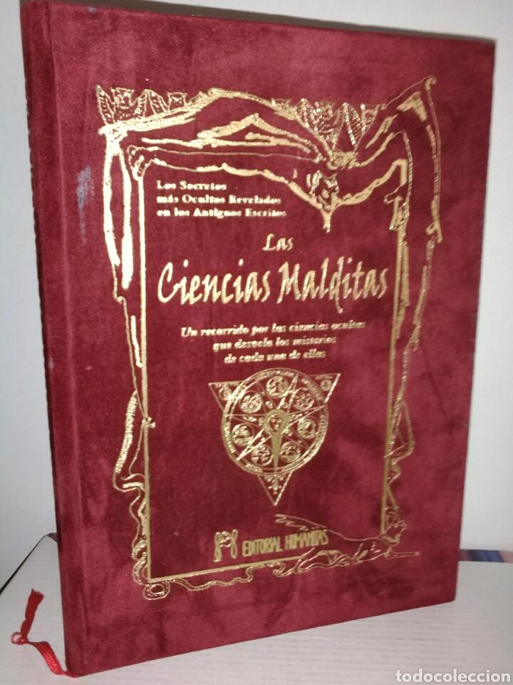 Libros de segunda mano: MUY DIFÍCIL DE ENCONTRAR!! LAS CIENCIAS MALDITAS. CIENCIAS OCULTAS. HUMANITAS - Foto 9 - 183903633