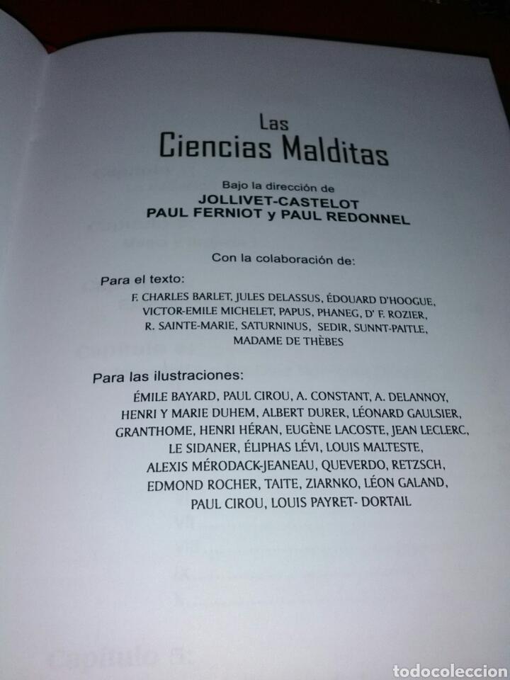 Libros de segunda mano: MUY DIFÍCIL DE ENCONTRAR!! LAS CIENCIAS MALDITAS. CIENCIAS OCULTAS. HUMANITAS - Foto 11 - 183903633