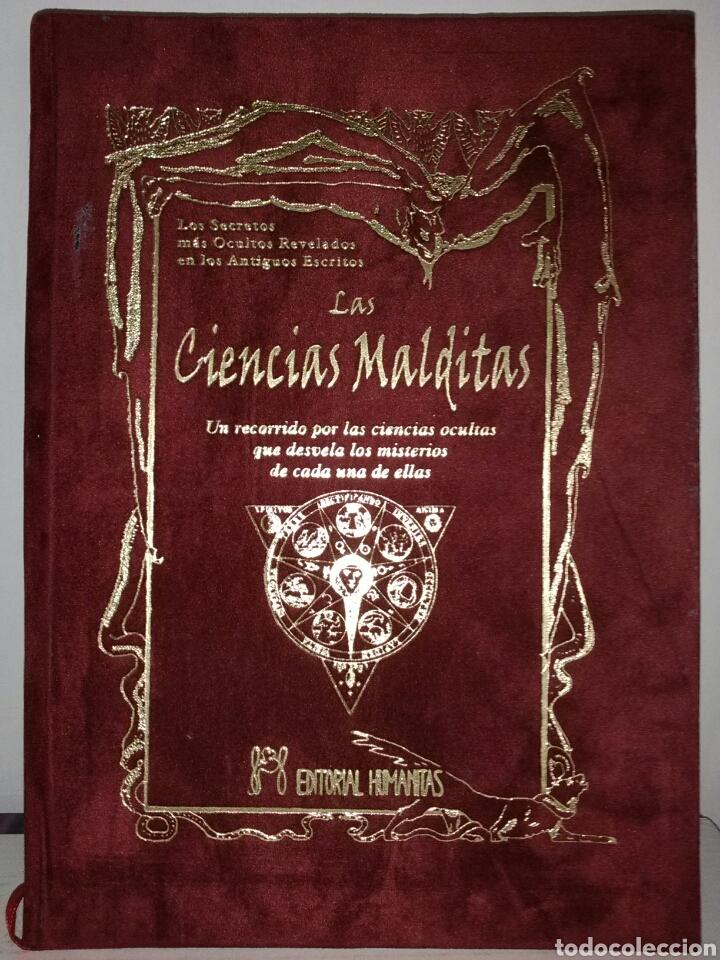 MUY DIFÍCIL DE ENCONTRAR!! LAS CIENCIAS MALDITAS. CIENCIAS OCULTAS. HUMANITAS (Libros de Segunda Mano - Parapsicología y Esoterismo - Tarot)