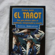 Libros de segunda mano: COMO LEER EL TAROT. Lote 184177686
