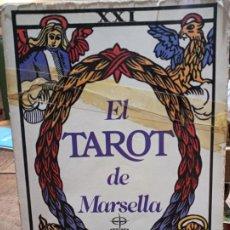 Libros de segunda mano: EL TAROT DE MARSELLA - LA TABLA DE ESMERALDA, DE EDAF. Lote 187108952