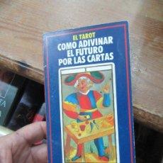 Livros em segunda mão: EL TAROT, CÓMO ADIVINAR EL FUTURO POR LAS CARTAS. L.20543. Lote 189326917