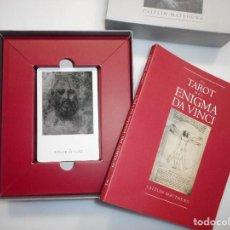 Libros de segunda mano: CAITLÍN MATTHEWS EL TAROT DEL ENIGMA DA VINCI Y97762. Lote 190815902