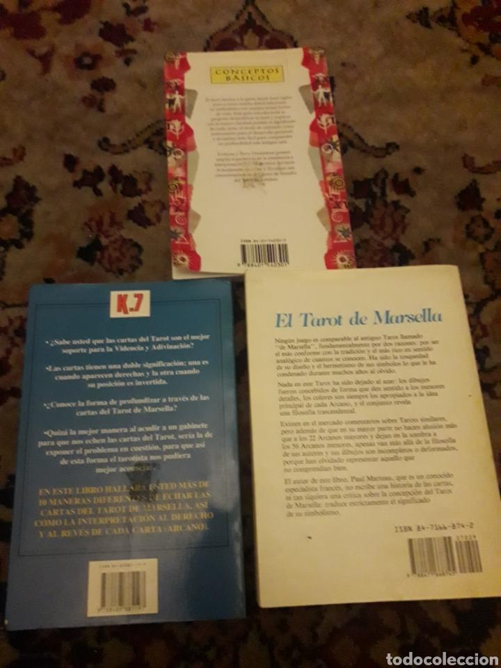 Libros de segunda mano: Tres libros de Tarot - Foto 5 - 192494925