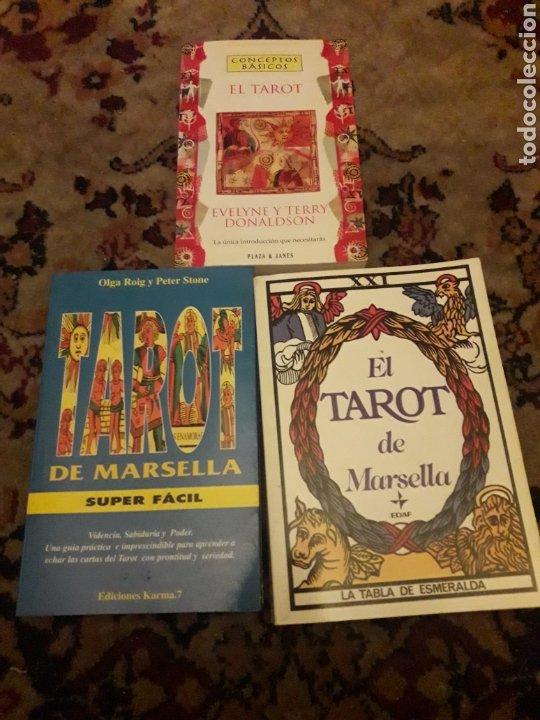 TRES LIBROS DE TAROT (Libros de Segunda Mano - Parapsicología y Esoterismo - Tarot)