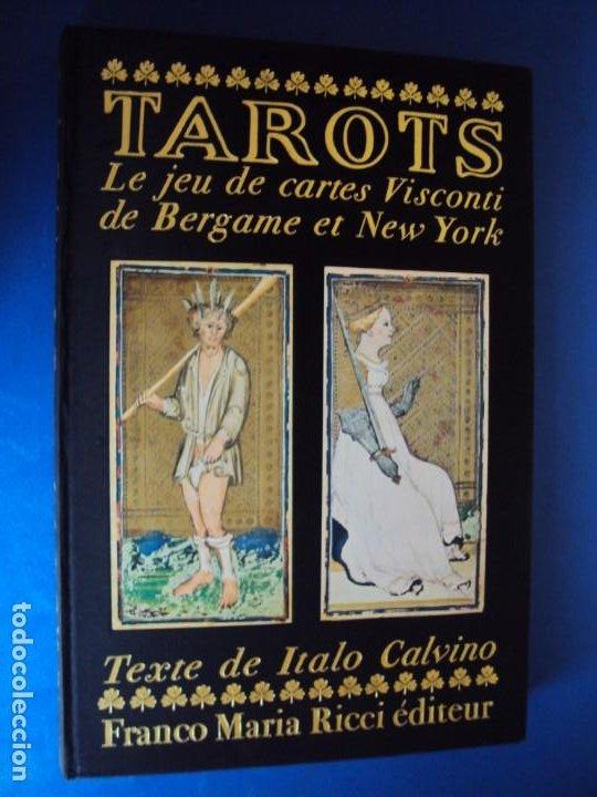 (LI-200210)CALVINO,ITALO. (TEXTO DE) MILÁN,1986. 1ª EDICIÓN. 3000 EJEMPLARES NUMERADOS, Nº0412. (Libros de Segunda Mano - Parapsicología y Esoterismo - Tarot)