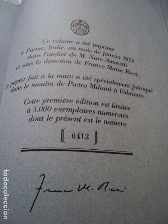 Libros de segunda mano: (LI-200210)CALVINO,ITALO. (TEXTO DE) Milán,1986. 1ª edición. 3000 ejemplares numerados, nº0412. - Foto 21 - 193797280