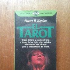 Livres d'occasion: EL TAROT, STUART R KAPLAN, REALISMO FANTASTICO, PLAZA & JANES, 1982. Lote 194214436