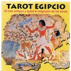 Libros de segunda mano: TAROT EGIPCIO . Lote 195738678