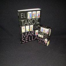 Libros de segunda mano: JULIAN M. WHITE - EL TAROT DE MARSELLA (LIBRO Y BARAJA) - EDICIONES SIRIO. Lote 196112002