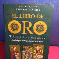 Livres d'occasion: (RESERVADO) EL LIBRO DE ORO DEL TAROT DE MARSELLA. Lote 196772065