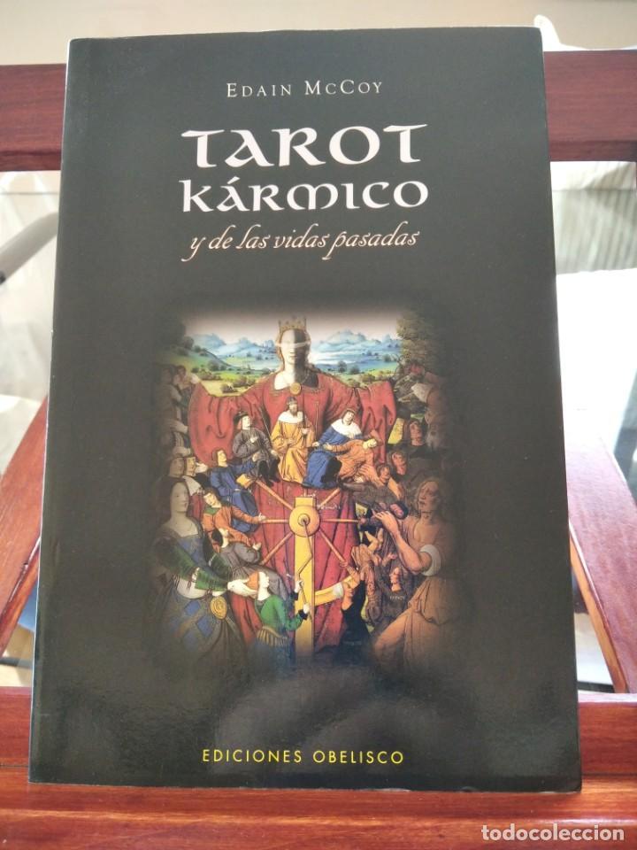 TAROT KARMICO-Y DE LAS VIDAS PASADAS-EDAIN MCCOY-EDICIONES OBELISCO-1ª EDICION 2007 (Libros de Segunda Mano - Parapsicología y Esoterismo - Tarot)