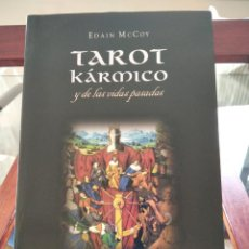 Libros de segunda mano: TAROT KARMICO-Y DE LAS VIDAS PASADAS-EDAIN MCCOY-EDICIONES OBELISCO-1ª EDICION 2007. Lote 196802353