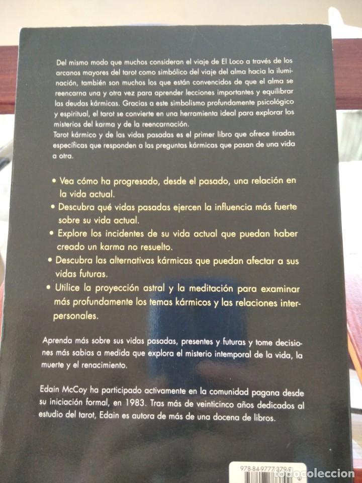 Libros de segunda mano: TAROT KARMICO-Y DE LAS VIDAS PASADAS-EDAIN McCOY-EDICIONES OBELISCO-1ª EDICION 2007 - Foto 4 - 196802353