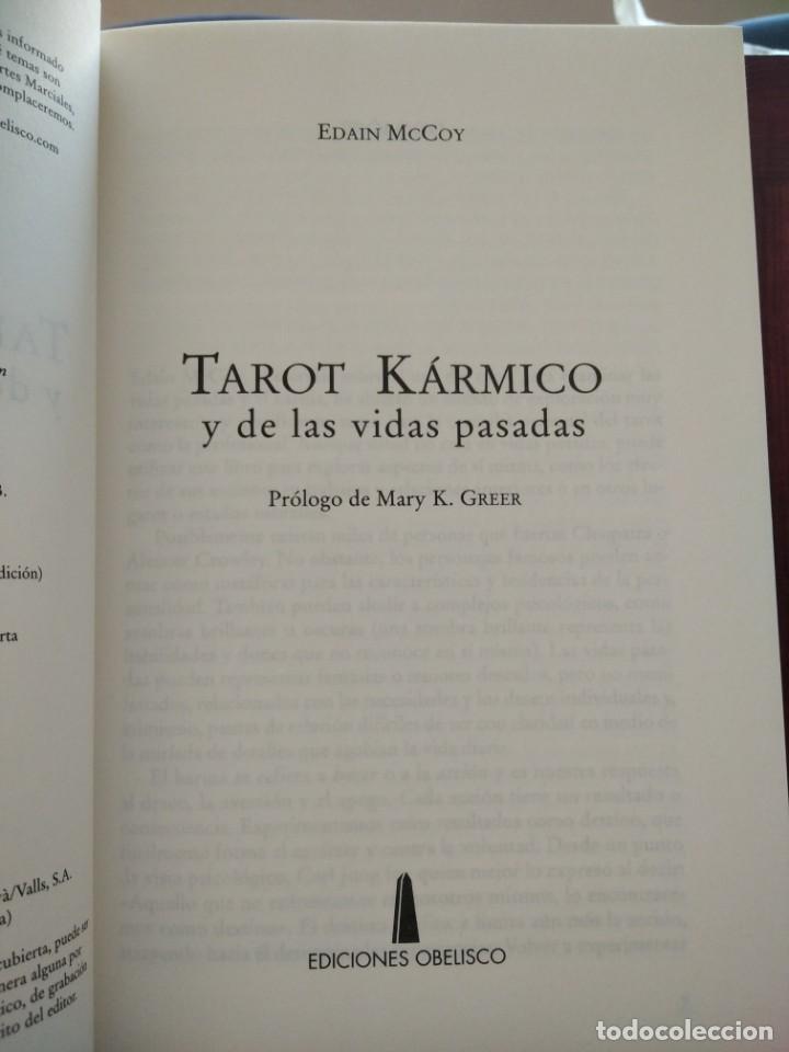 Libros de segunda mano: TAROT KARMICO-Y DE LAS VIDAS PASADAS-EDAIN McCOY-EDICIONES OBELISCO-1ª EDICION 2007 - Foto 6 - 196802353