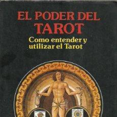 Libros de segunda mano: DR. KLAUS BERGMAN-EL PODER DEL TAROT.COMO UTILIZAR Y ENTENDER EL TAROT.1989.. Lote 217812278