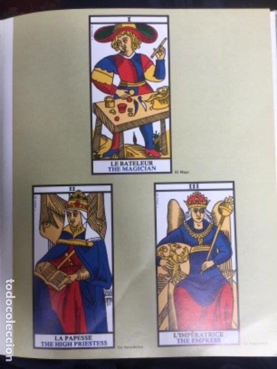 Libros de segunda mano: EL LIBRO DE LA CARTOMANCIA 1986 - COMO LEER EL FUTURO DE LAS CARTAS -ALESSANDRO BELLENGHI -PIRAMIDE - Foto 4 - 197995395