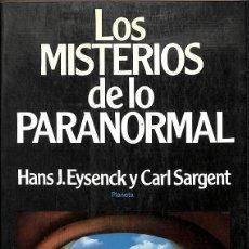 Libros de segunda mano: LOS MISTERIOS DE LO PARANORMAL. Lote 198113537
