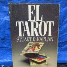 Libri di seconda mano: EL TAROT STUART R. KAPLAN PLAZA Y JANES EDITORES 1985 1ª EDICIÓN. Lote 200185995