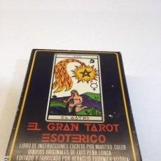 Libros de segunda mano: BARAJA DE TAROT. Lote 201156923