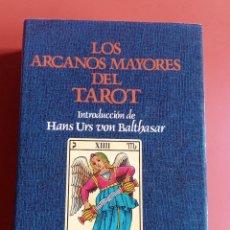 Libros de segunda mano: LOS ARCANOS MAYORES DEL TAROT - MEDITACIONES - ILUSTRADO - HERDER - EDICIÓN 2003. Lote 202750840