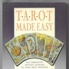 Libros de segunda mano: TAROT MADE EASY. GAREN, NANCY 1989. Lote 204203257