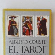 Libros de segunda mano: EL TAROT O LA MÁQUINA DE IMAGINAR. AUTOR: ALBERTO COUSTE. Lote 206184771