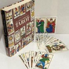 Libros de segunda mano: SALAS, EMILIO. EL GRAN LIBRO DEL TAROT. INCLUYE UNA BARAJA DE LOS 22 ARCANOS MAYORES. Lote 206299797