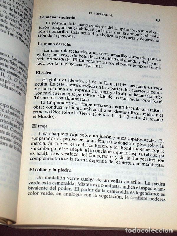 Libros de segunda mano: TAROTS. PRÁCTICAS E INTERPRETACIONES. Marcel PICARD. Edaf, 1988. Col. La Tabla de Esmeralda. VER MÁS - Foto 3 - 207228747