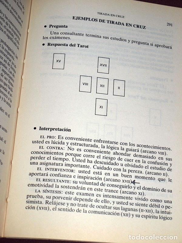 Libros de segunda mano: TAROTS. PRÁCTICAS E INTERPRETACIONES. Marcel PICARD. Edaf, 1988. Col. La Tabla de Esmeralda. VER MÁS - Foto 6 - 207228747